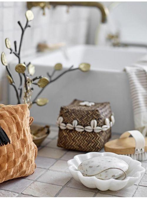 Porte-savon en marbre Mussel