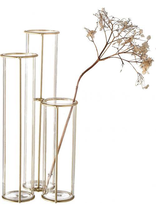 Vase avec structure en...