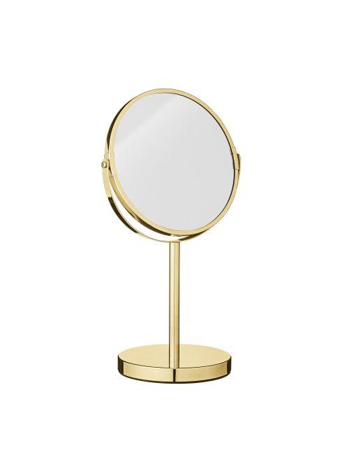 Miroir de salle de bain Classic, à effet grossissant - couleur dorée