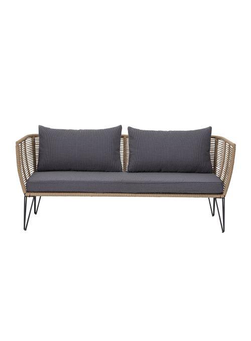 Canapé lounge jardin Mundo  beige
