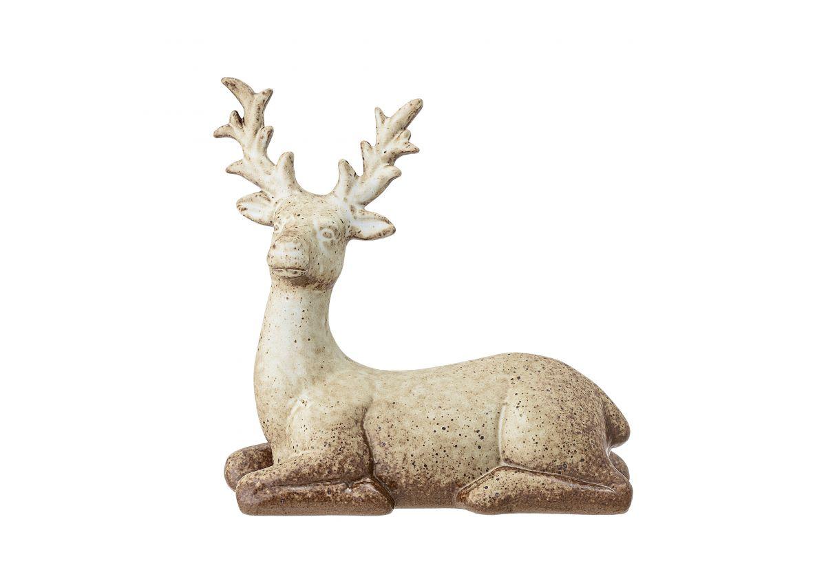 Accessoire décoratif fait main Deer - Brun beige