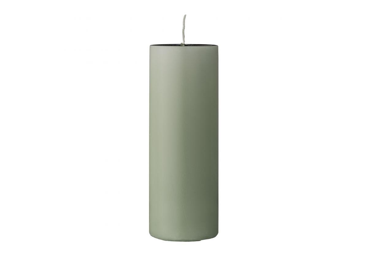 Bougie décorative verte Lulu - Vert clair