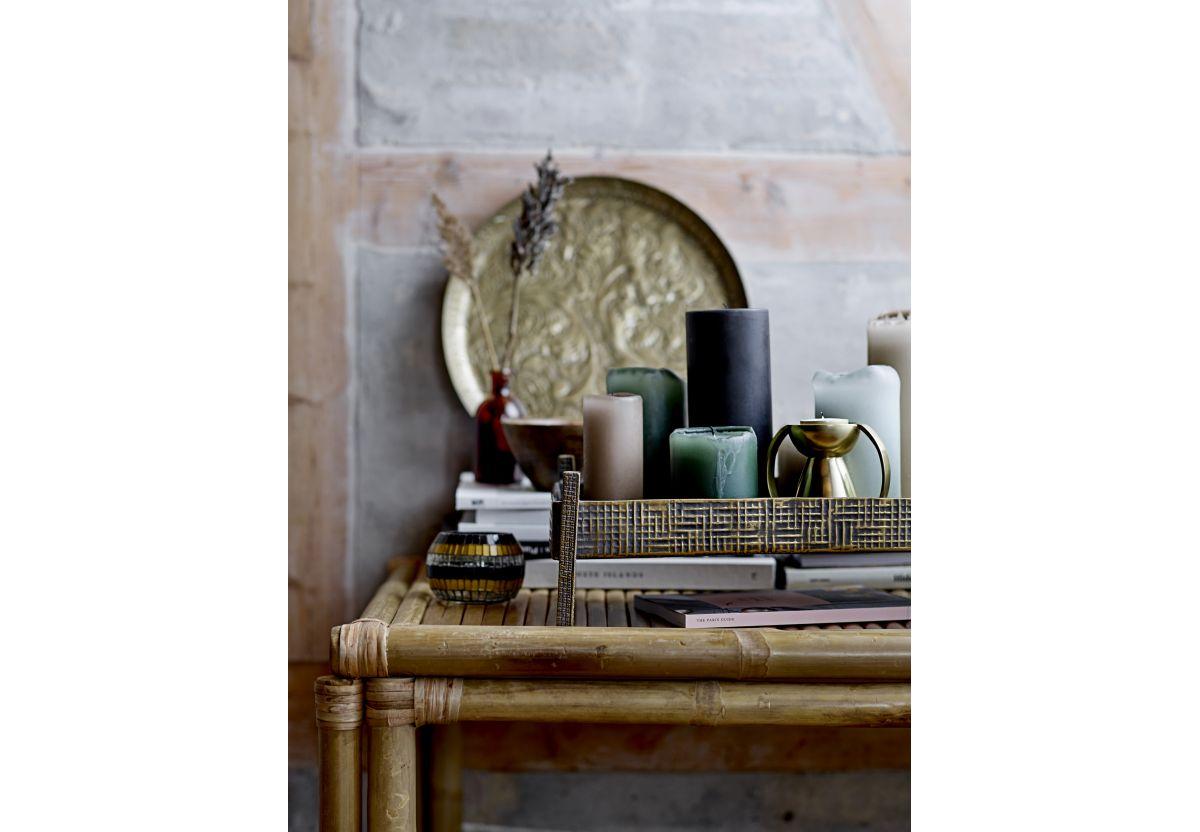 Bougie décorative Lulu - Gris foncé